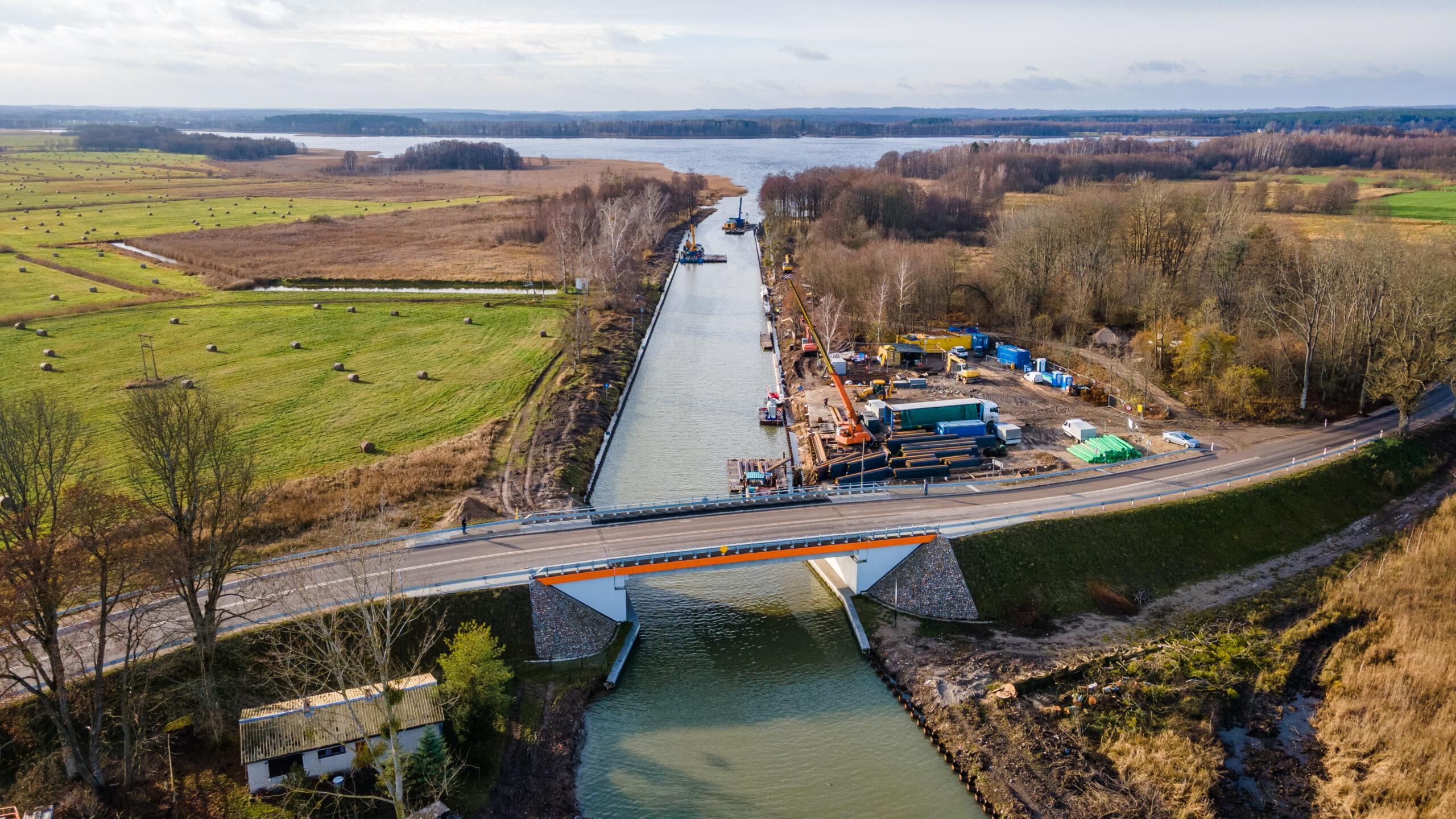Trwają remonty kanałów na Szlaku Wielkich Jezior Mazurskich