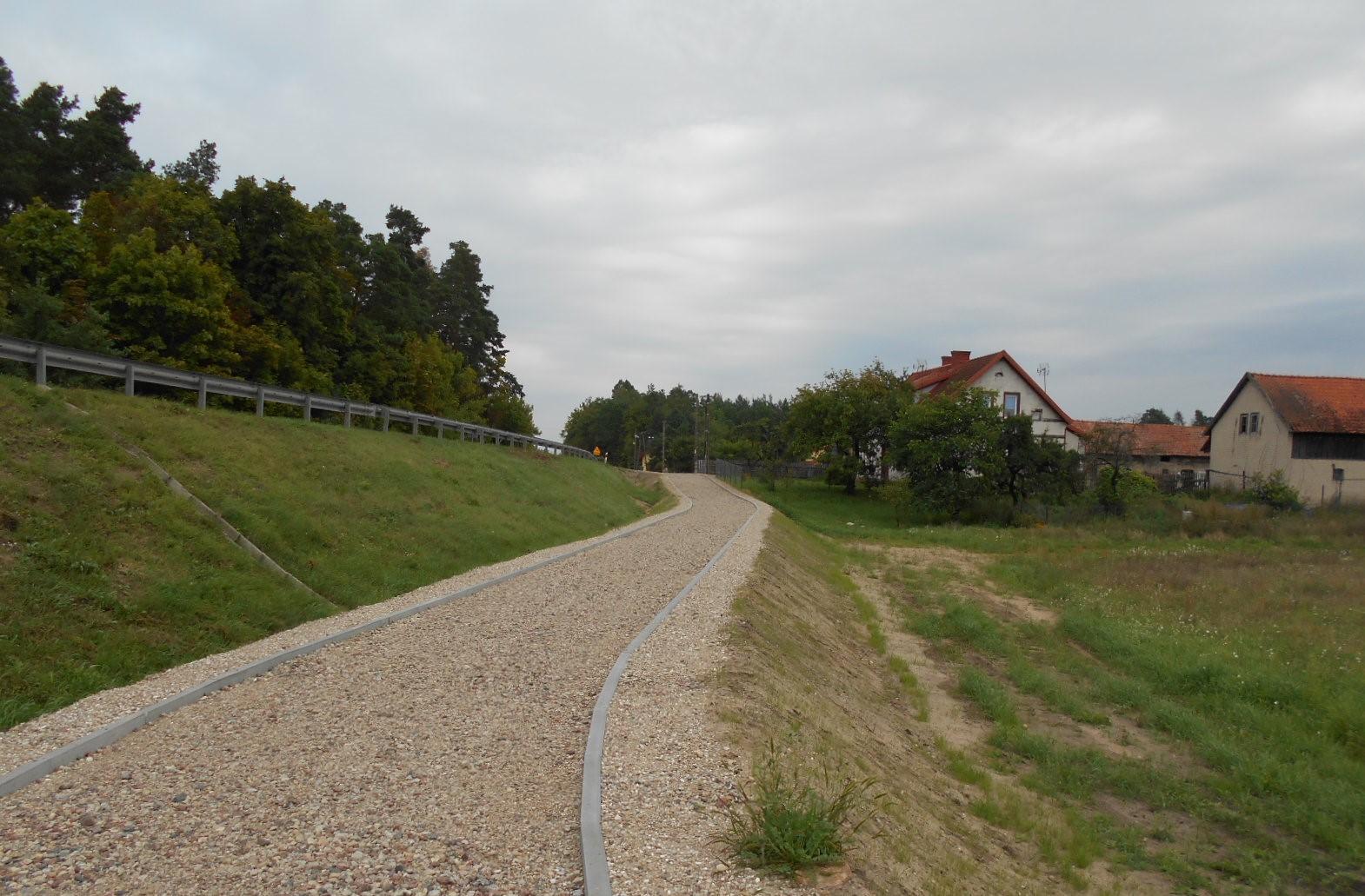 Postępy prac Mazurskiej Pętli Rowerowej przy drogach krajowych