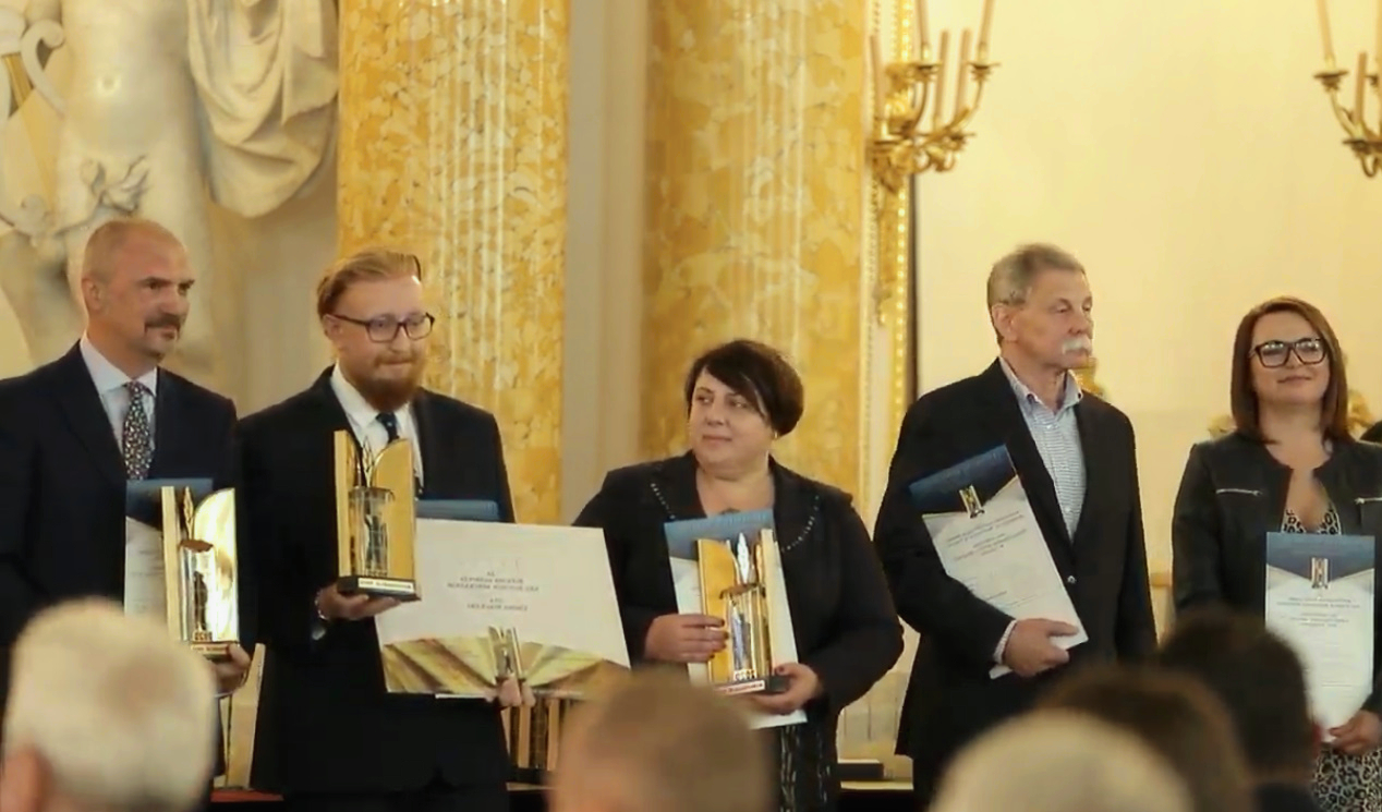 """Nabrzeże w Mikołajkach najlepszą inwestycję w konkursie """"Modernizacja Roku & Budowa XXI w.""""!"""